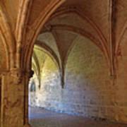Inside A Monastery Dordogne France  Art Print