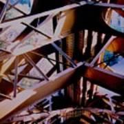 Inside Eiffel Art Print