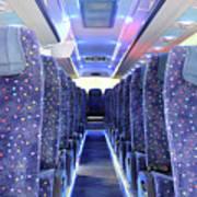 Inside Of New Bus  Art Print