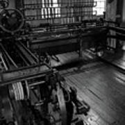 Inside Slater Mill Art Print
