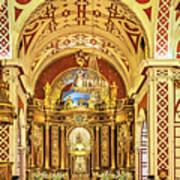 Inside The Basilica Art Print