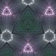 Inside The Crystal Art Print