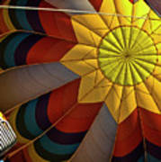 Inside The Heart Of A Hot Air Balloon Art Print