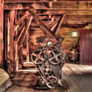 Inside the Mill Art Print