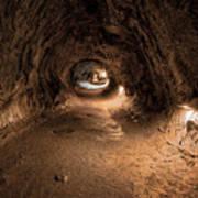 Inside Thurstons Lava Tube Art Print