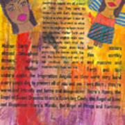Inspiration Angels II Art Print