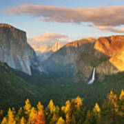 Inspiration Point Yosemite Art Print by Buck Forester