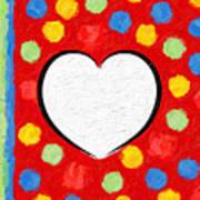 Insta Heart Art Print