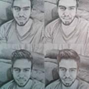 Instagram Portrait Art Print