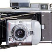 Instant Vintage Polaroid Camera Art Print