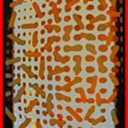 Intellectual Ameba Bacteria Synapse Art Print