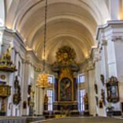 Interior Kalmar Cathedral Art Print