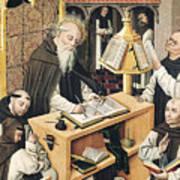 Interior Of A Scriptorium Art Print