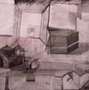 Interior Space Art Print