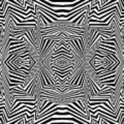 Interlinking Everything 2 Art Print