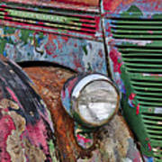 International Car Details Art Print
