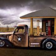 International Explosives Truck Art Print