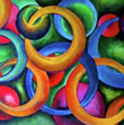 Intertwined Bonds Art Print