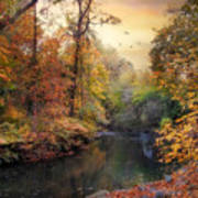 Intimate Autumn Art Print