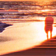 Into The Sunset 6 Art Print