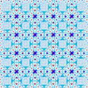 Intricate Geometric Pattern Art Print