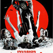 Invasion Of The Blood Farmers, Poster Print by Everett