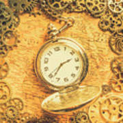 Invention Of Time Art Print