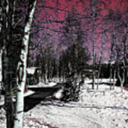 Invernal Landscape Art Print