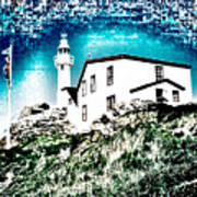 Inverted Lighthouse  Art Print