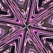 Inviolate Violet Art Print