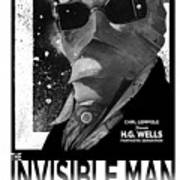 Invisible Man Movie Poster 1933 Art Print
