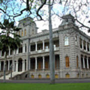 Iolani Palace, Honolulu, Hawaii Art Print