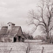 Iowa Farm Art Print