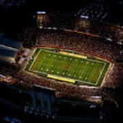 Iowa State Jack Trice Stadium Aerial  Art Print by Iowa State