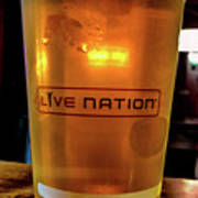 Ipa Beer In Live Nation Cup At Shoreline Amphitheatre During Dead And Company Art Print