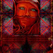 Iran Daze Art Print