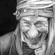 Iranian Man Art Print by Enzie Shahmiri