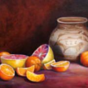 Iranian Still Life Art Print