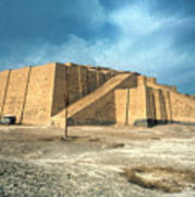Iraq: Ziggurat In Ur Art Print