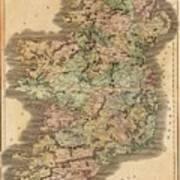 Ireland 1831 Art Print