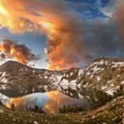 Ireland Lake Sunrise - Yosemite Art Print