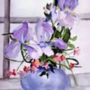 Iris Bouquet Art Print