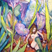 Iris Grantor Of Hope Wisdom And Inspiration - Watercolor Art Print