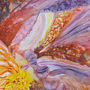Iris Intricacies Art Print