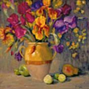Iris Rhapsody Art Print