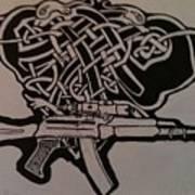 Irish Ak-74 Art Print