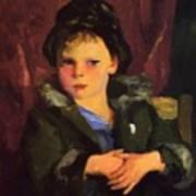 Irish Boy 1898 Art Print