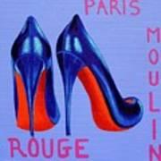 Irish Burlesque Shoes Art Print