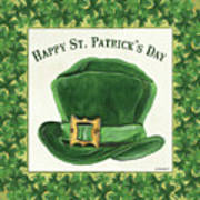 Irish Cap Art Print