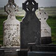 Irish Cemetery P7010429 Art Print